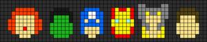 Alpha pattern #7642