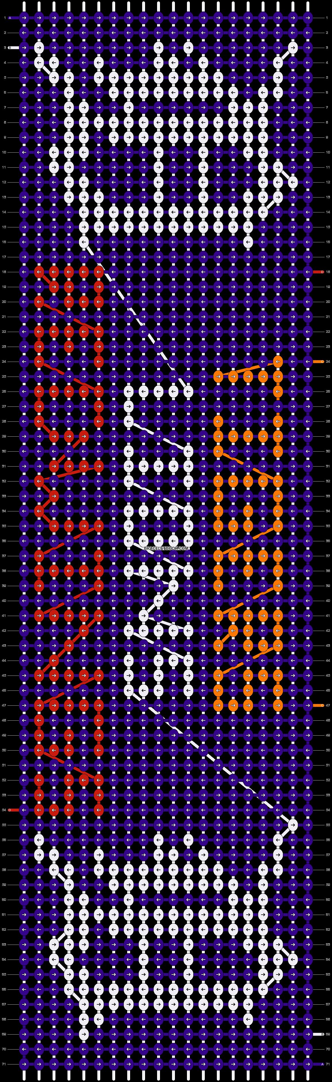 Alpha pattern #7647 pattern