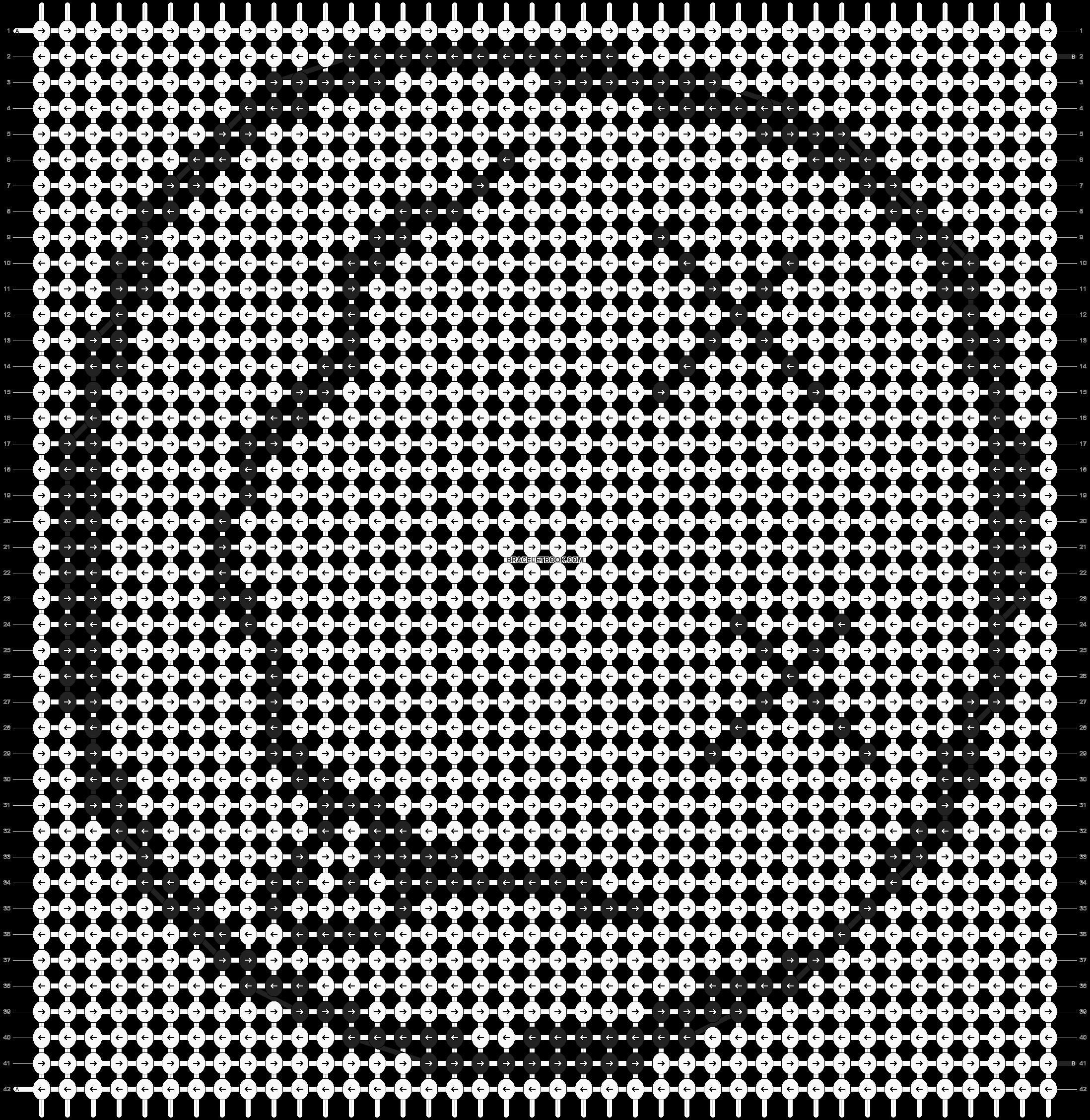 Alpha pattern #7649 pattern