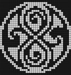 Alpha pattern #7667