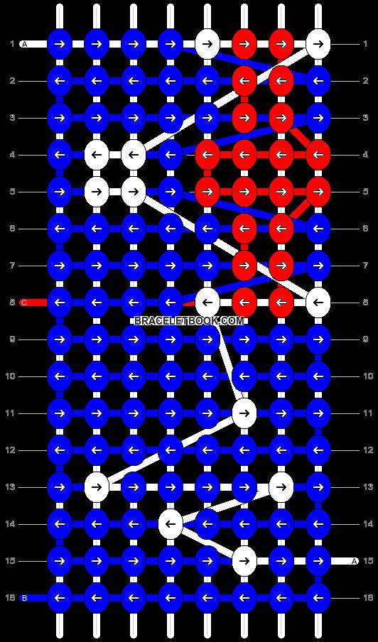 Alpha pattern #7676 pattern