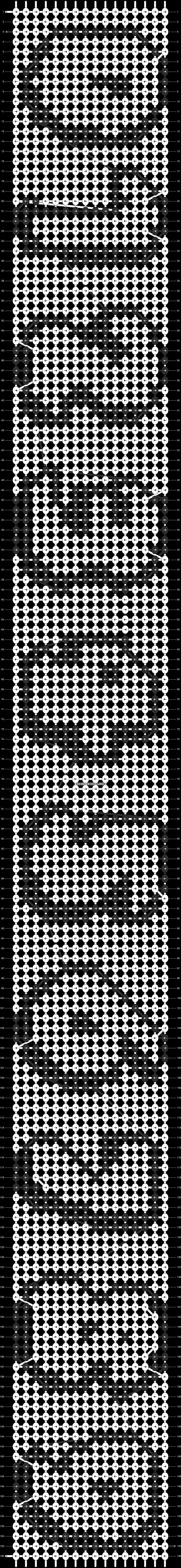Alpha pattern #7680 pattern
