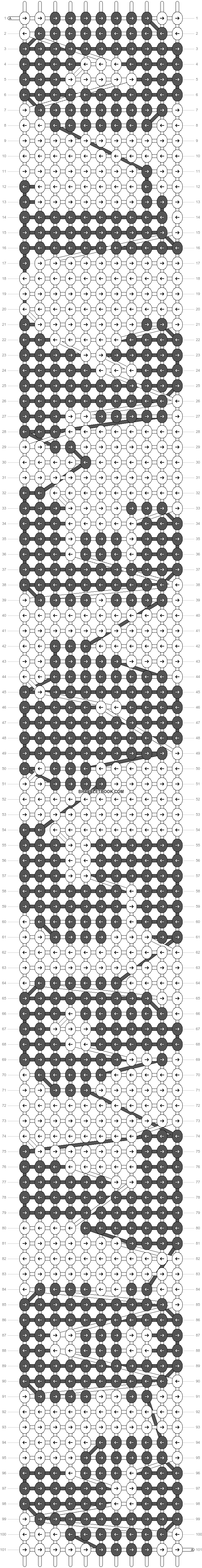 Alpha pattern #7681 pattern