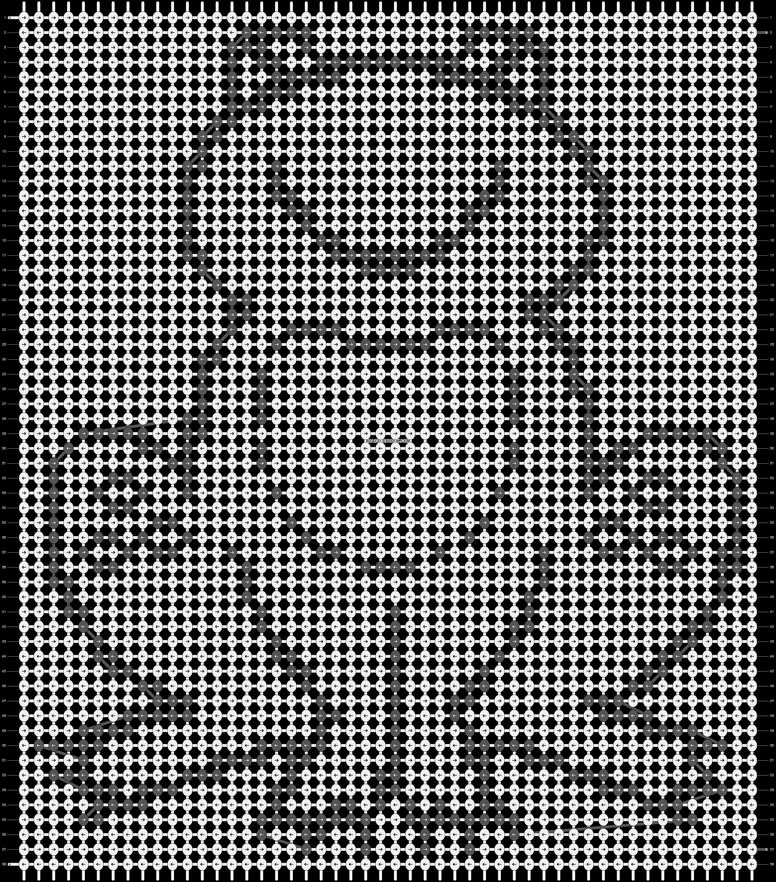Alpha pattern #7687 pattern