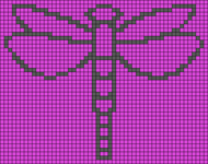 Alpha pattern #7692