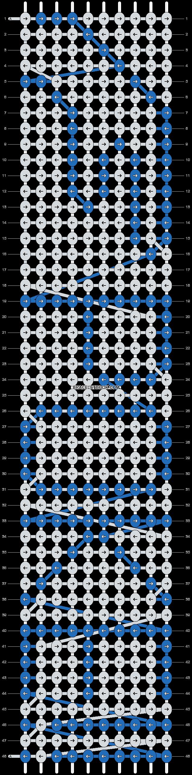 Alpha pattern #7696 pattern