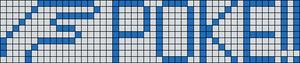 Alpha pattern #7696