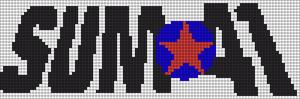 Alpha Friendship Bracelet Pattern #7699