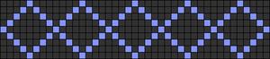 Alpha Friendship Bracelet Pattern #7700