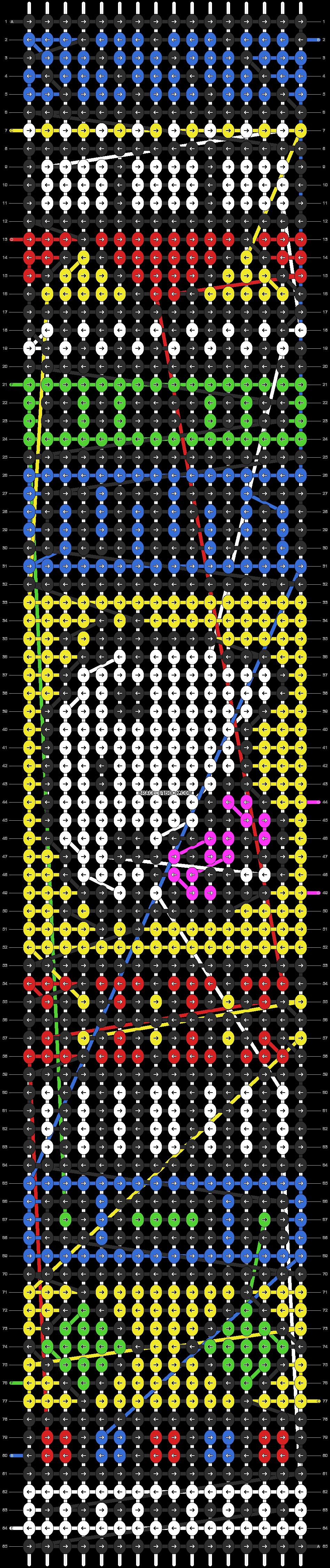 Alpha pattern #7701 pattern