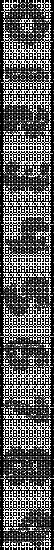 Alpha pattern #7705 pattern