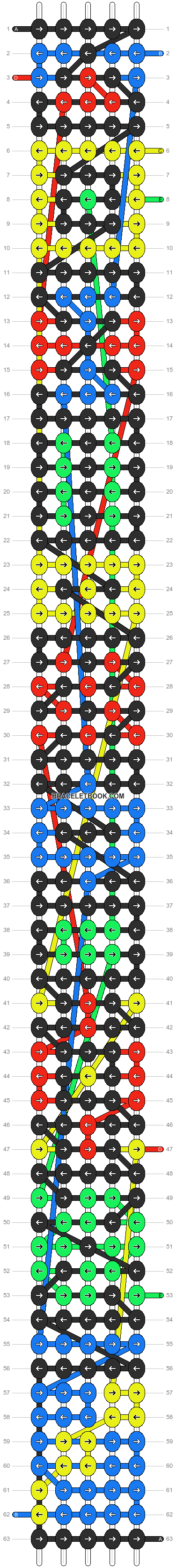 Alpha pattern #7717 pattern