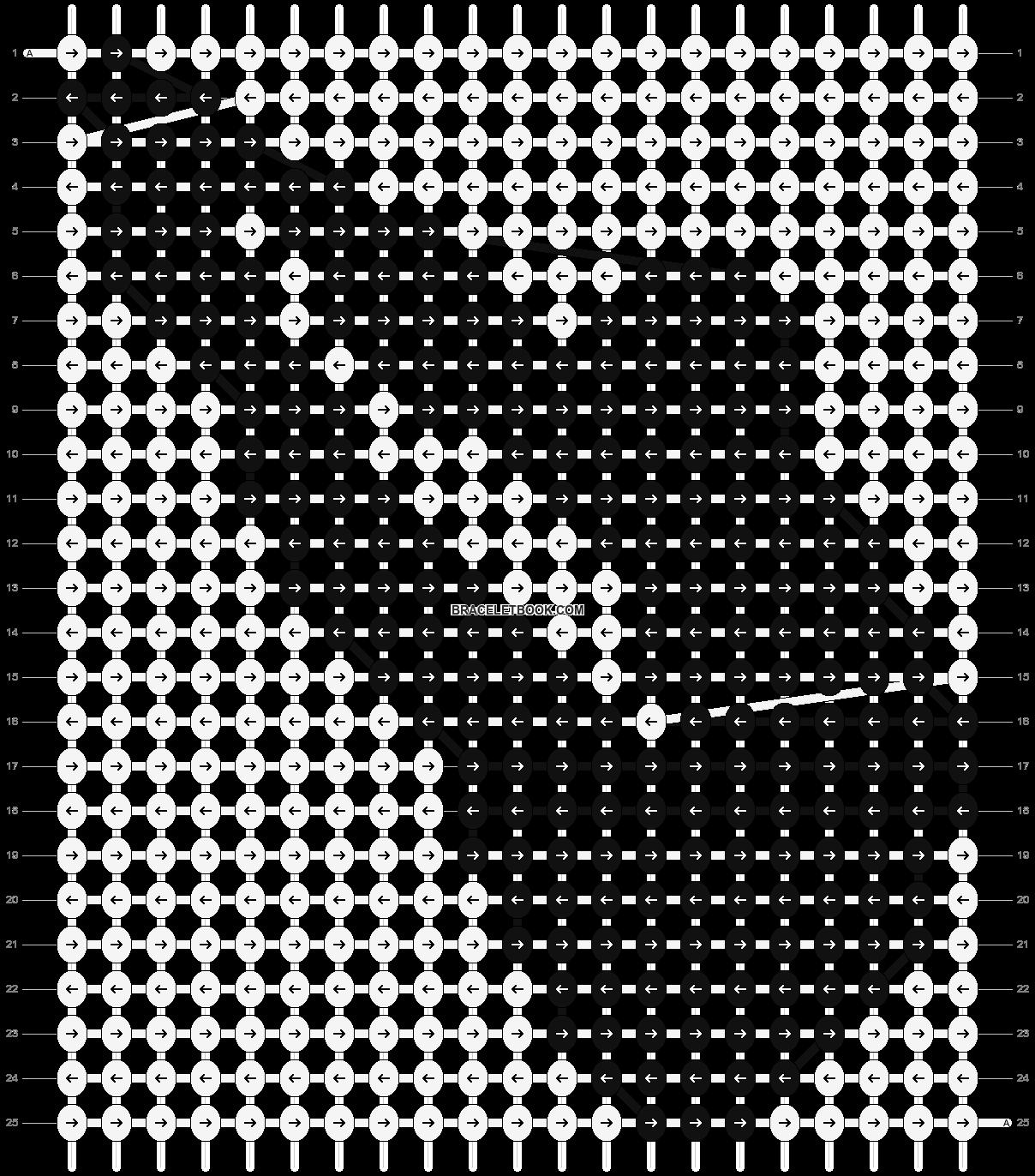 Alpha pattern #7721 pattern