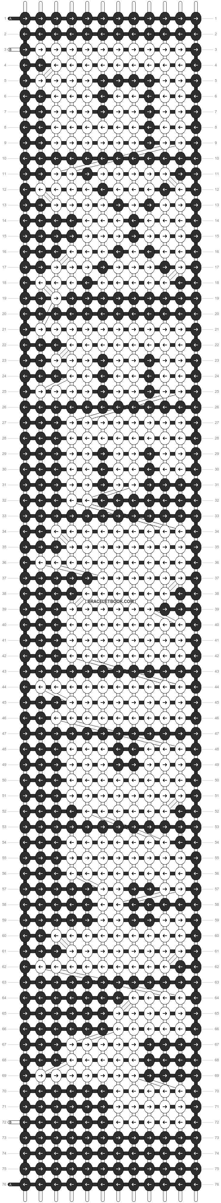 Alpha pattern #7723 pattern