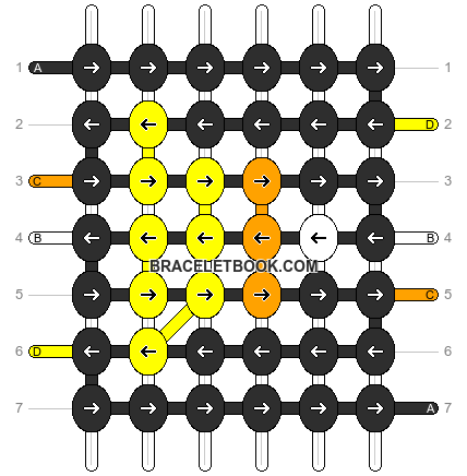 Alpha pattern #7726 pattern