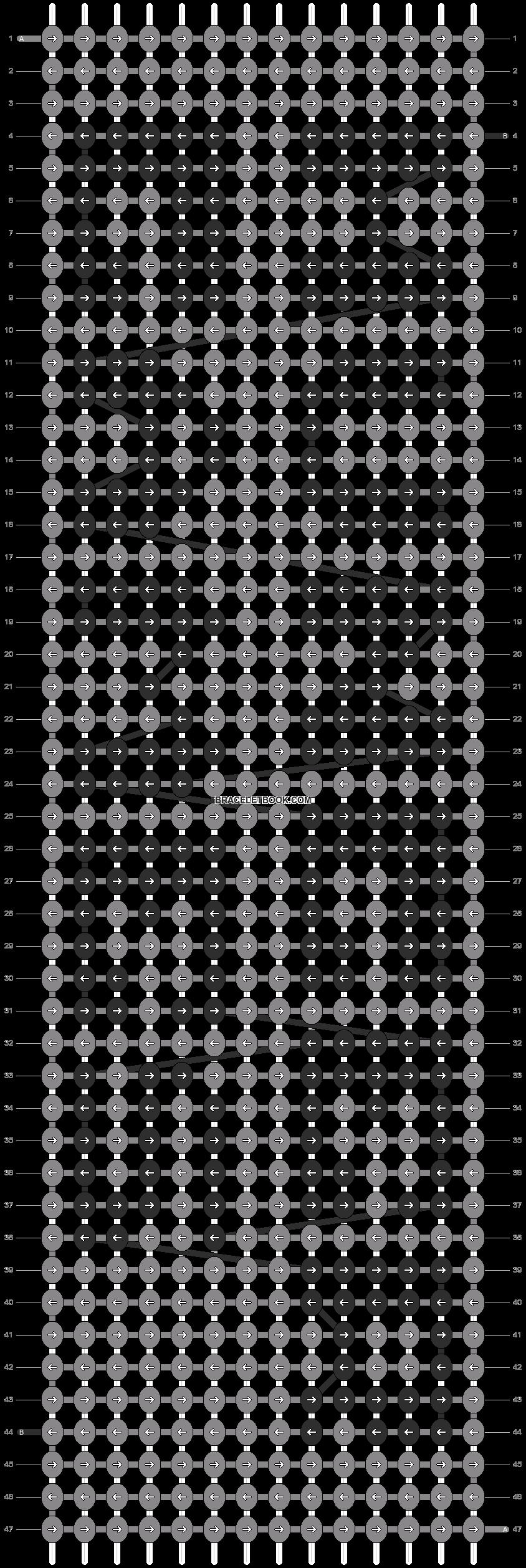 Alpha pattern #7732 pattern