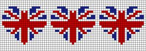 Alpha Friendship Bracelet Pattern #7742