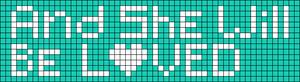 Alpha pattern #7745