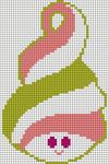 Alpha Friendship Bracelet Pattern #7749