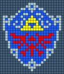 Alpha pattern #7752