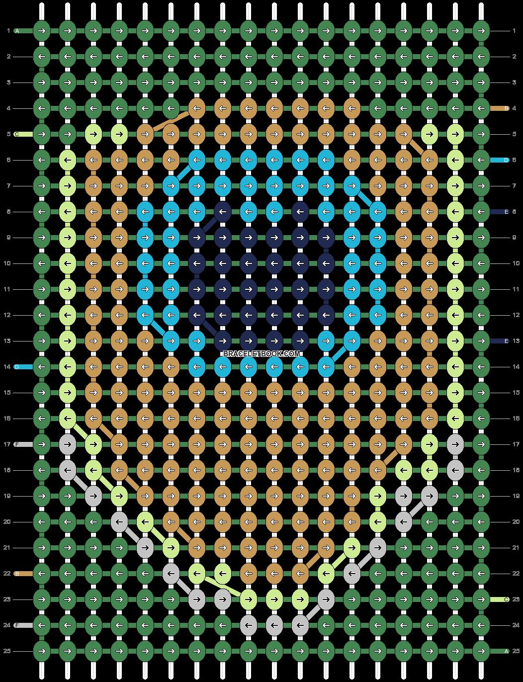 Alpha pattern #7758 pattern