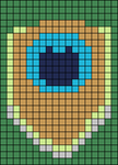 Alpha pattern #7758