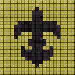 Alpha pattern #7759