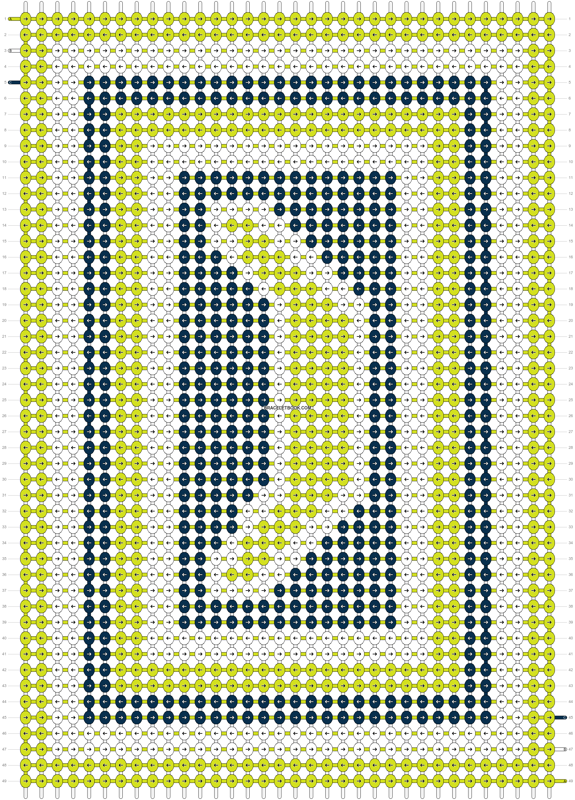 Alpha pattern #7763 pattern