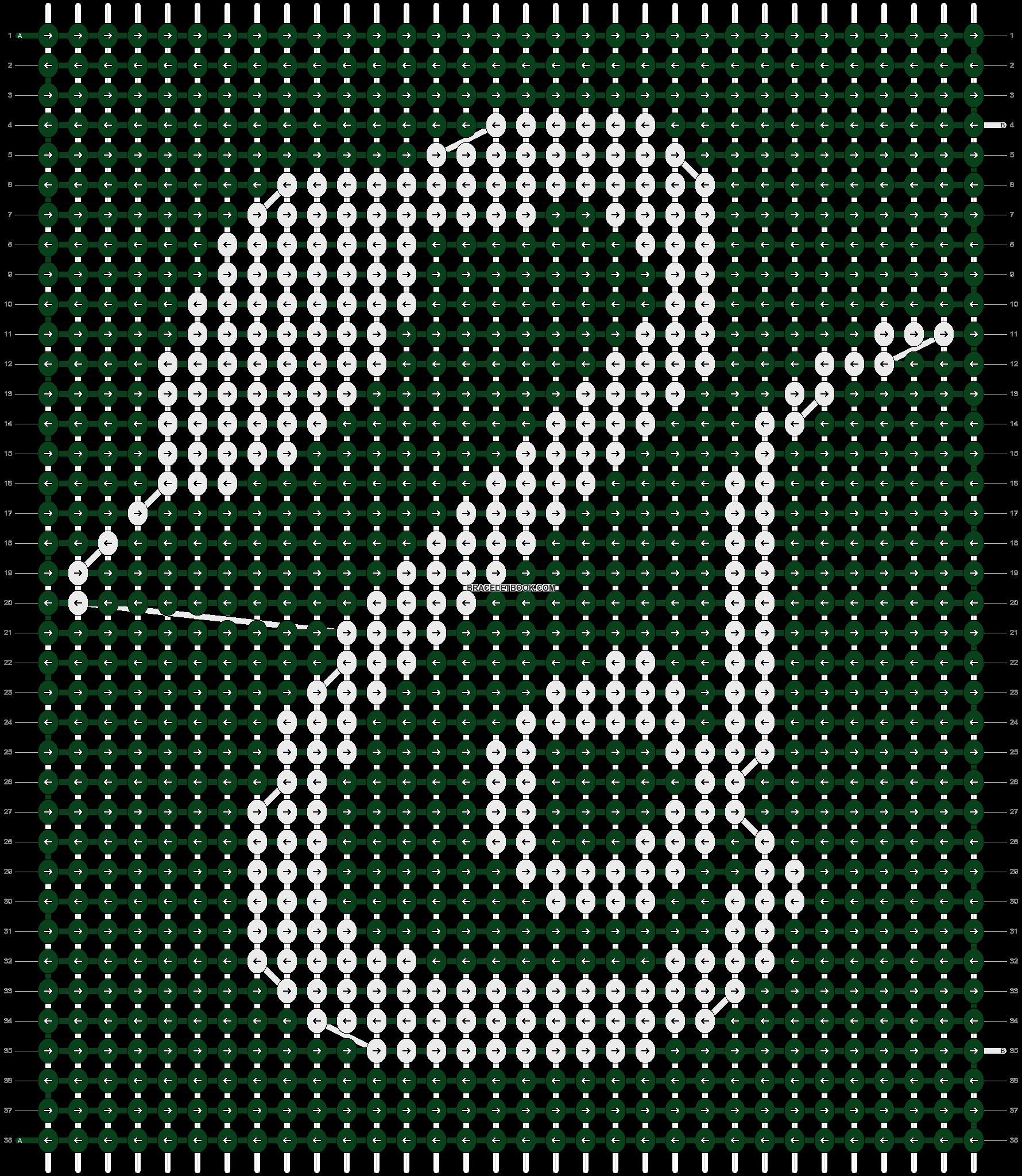 Alpha pattern #7768 pattern