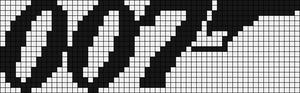 Alpha pattern #7773