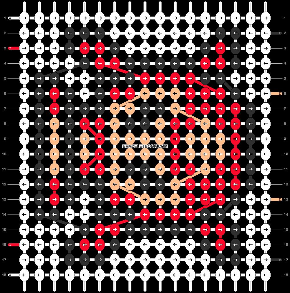 Alpha pattern #7775 pattern