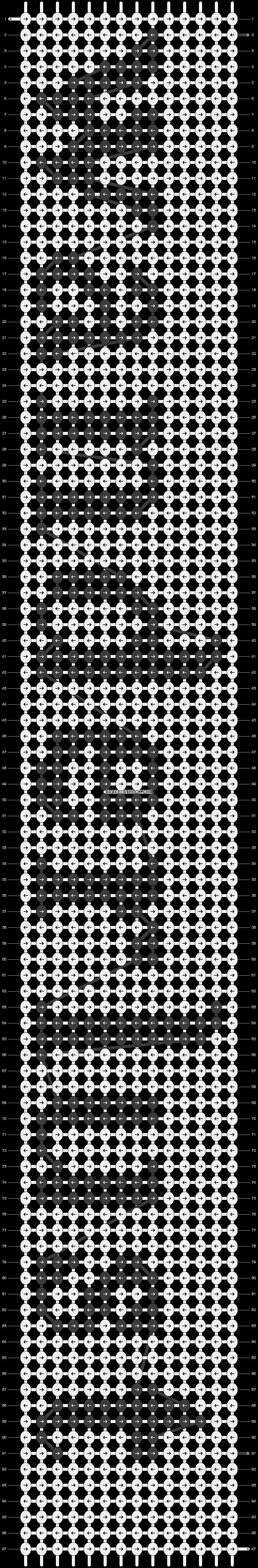 Alpha pattern #7778 pattern