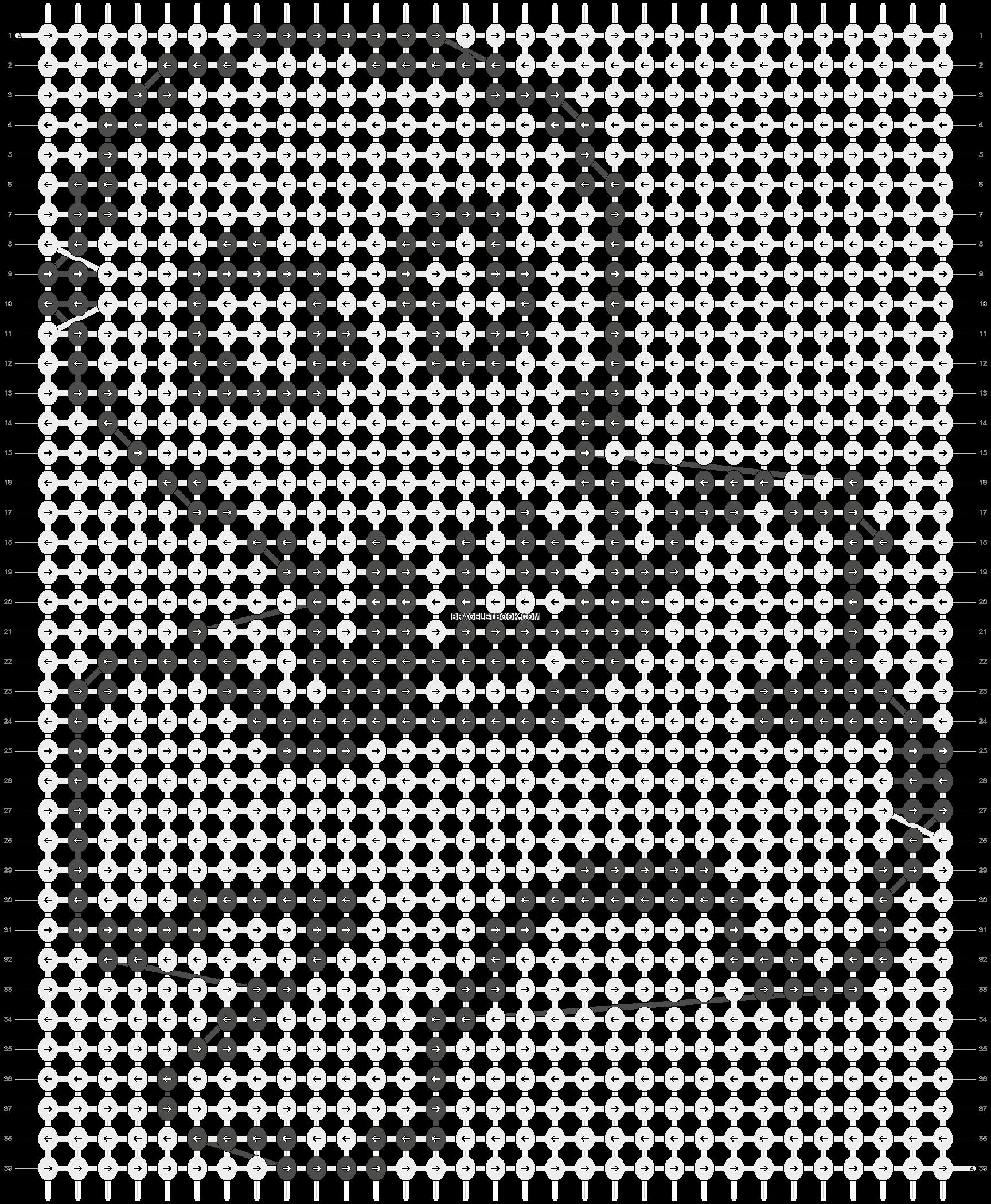 Alpha pattern #7780 pattern