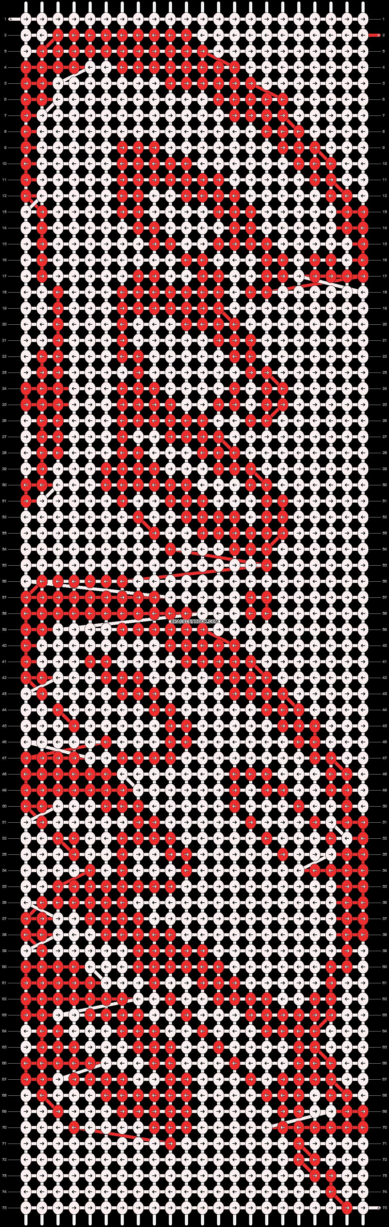 Alpha pattern #7782 pattern