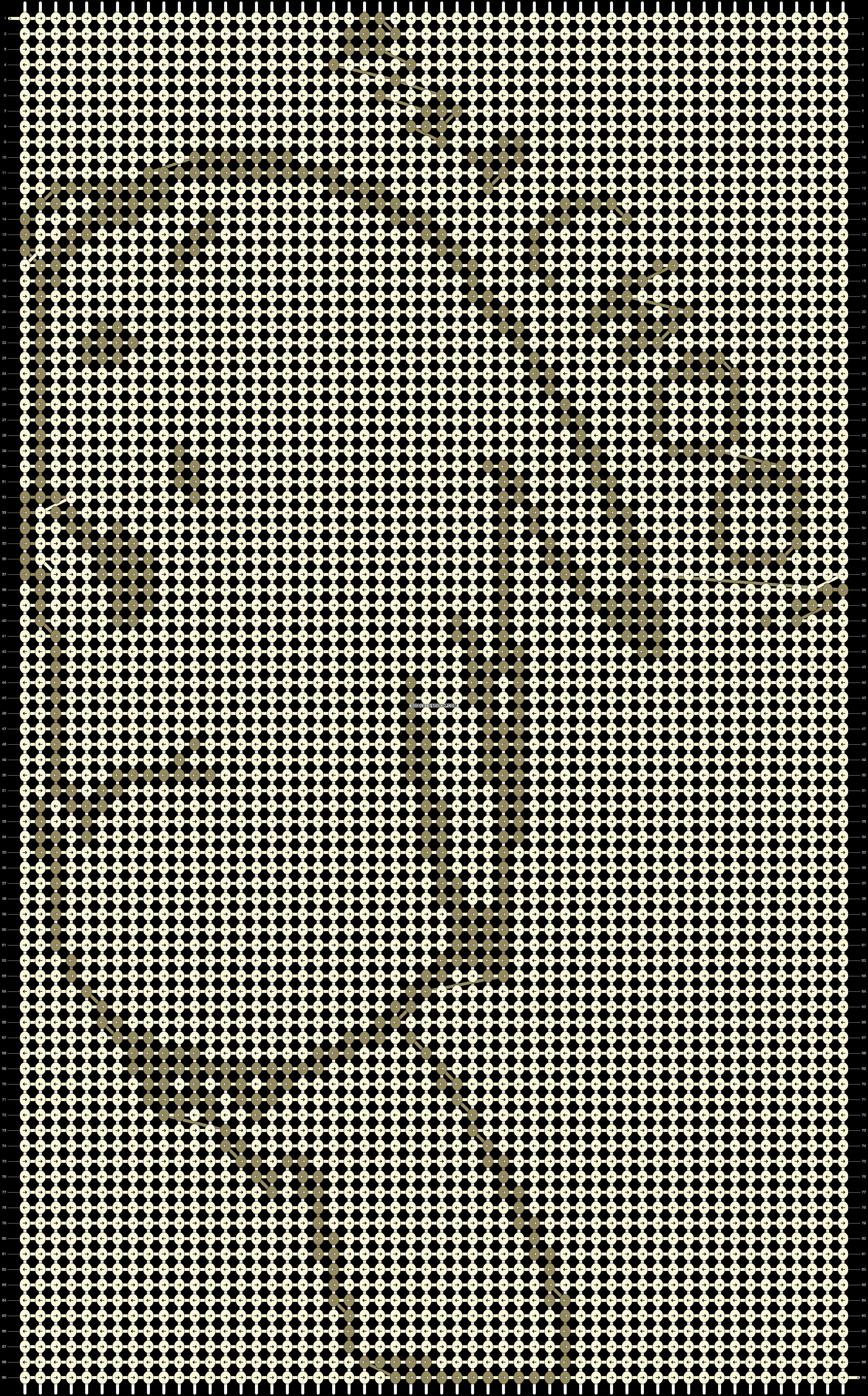 Alpha pattern #7784 pattern