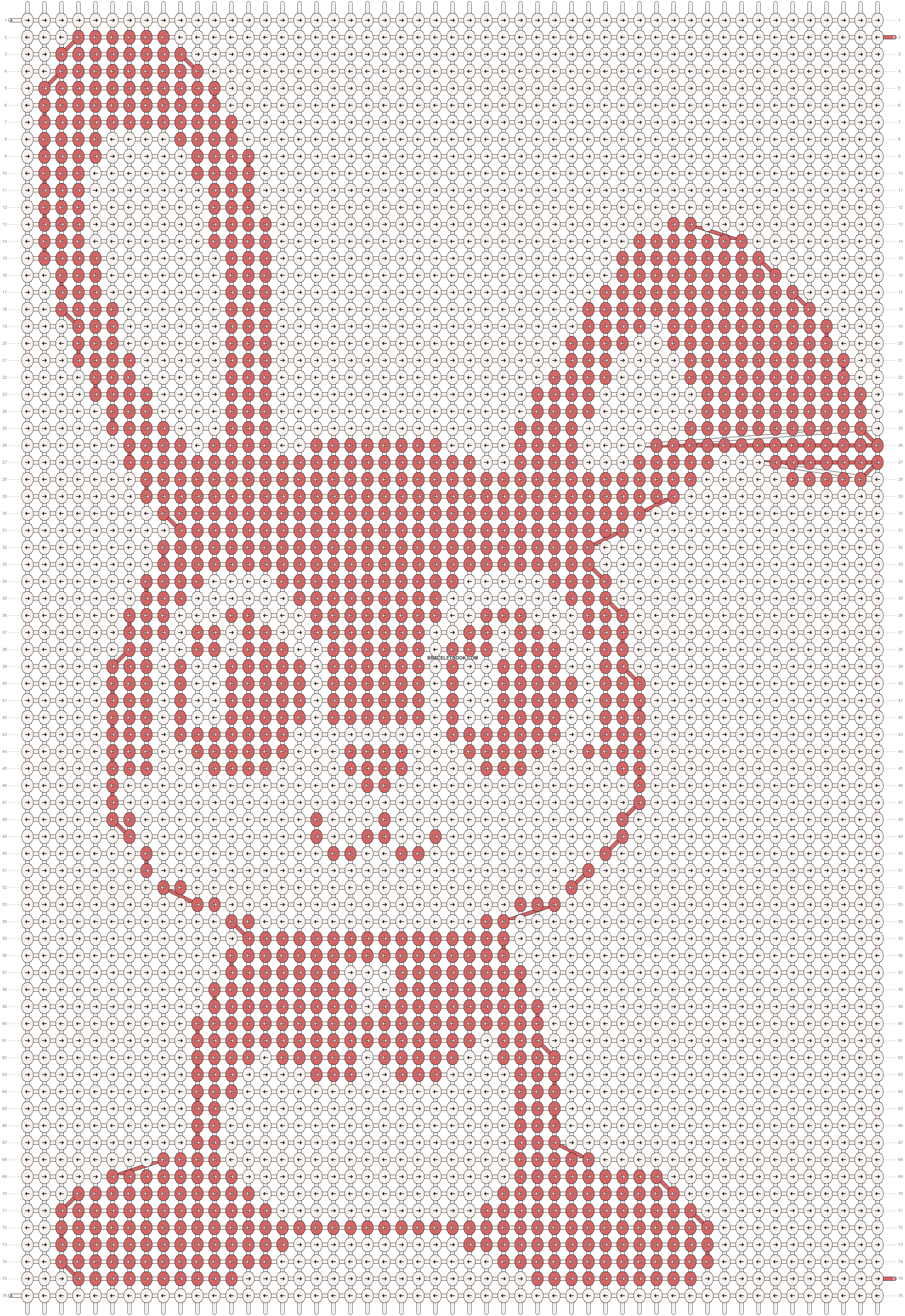 Alpha pattern #7788 pattern