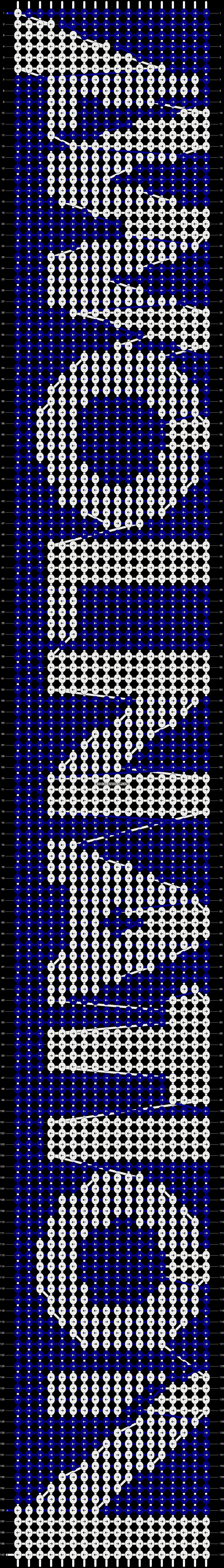 Alpha pattern #7796 pattern
