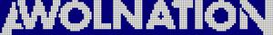 Alpha Friendship Bracelet Pattern #7796