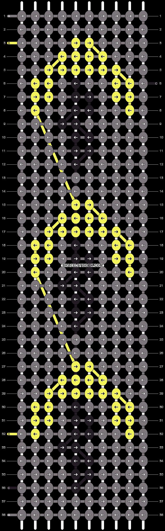 Alpha pattern #7798 pattern