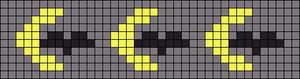 Alpha Friendship Bracelet Pattern #7798