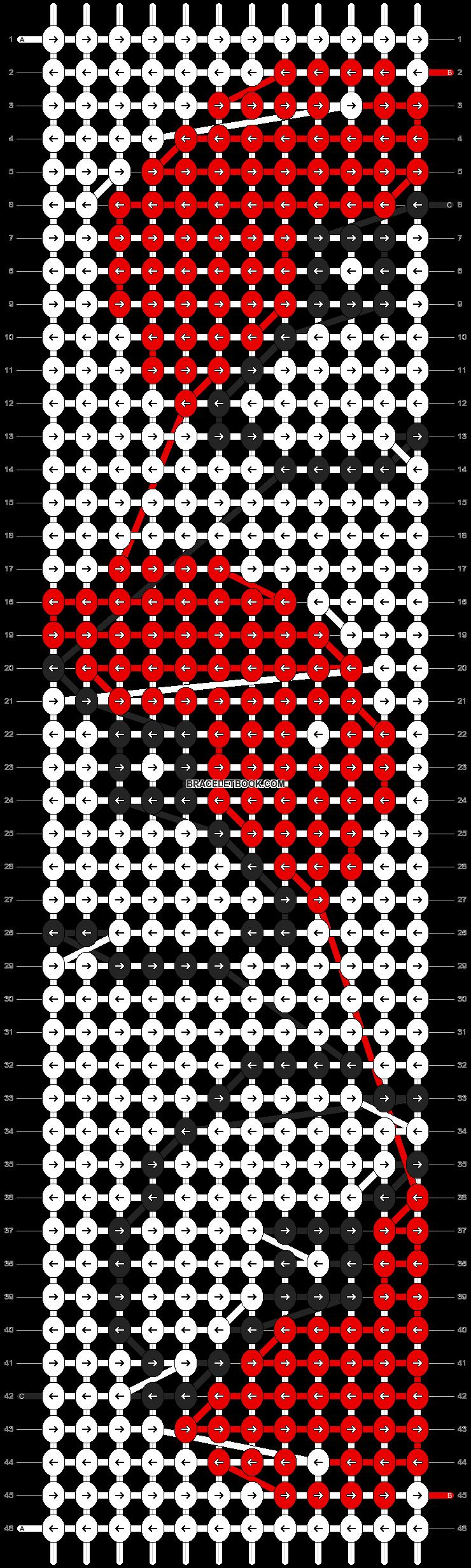 Alpha pattern #7799 pattern