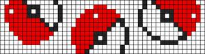 Alpha Friendship Bracelet Pattern #7799