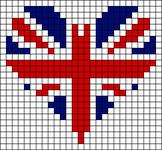 Alpha Friendship Bracelet Pattern #7800