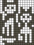 Alpha Friendship Bracelet Pattern #7802