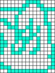 Alpha pattern #7803