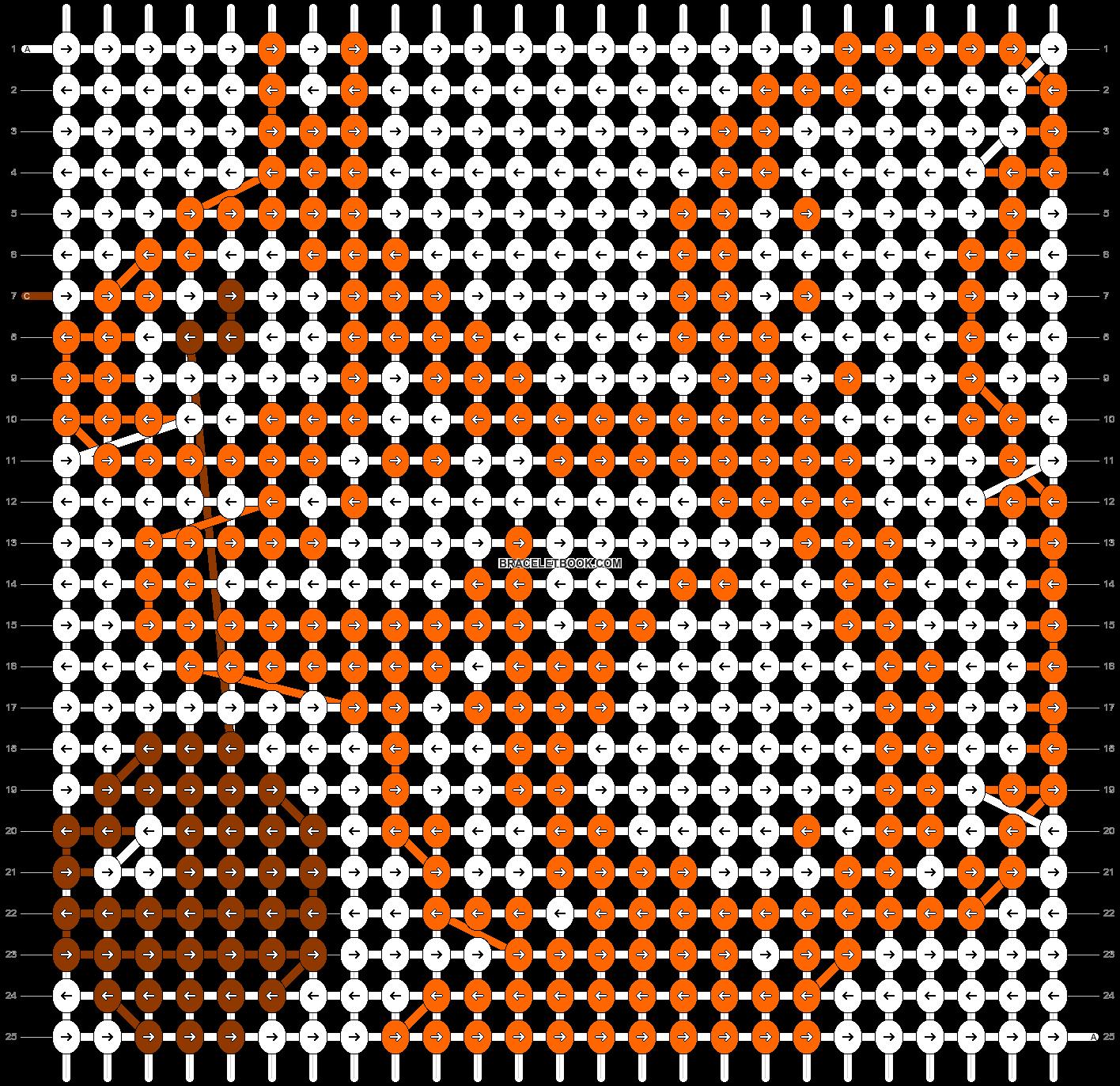 Alpha pattern #7805 pattern