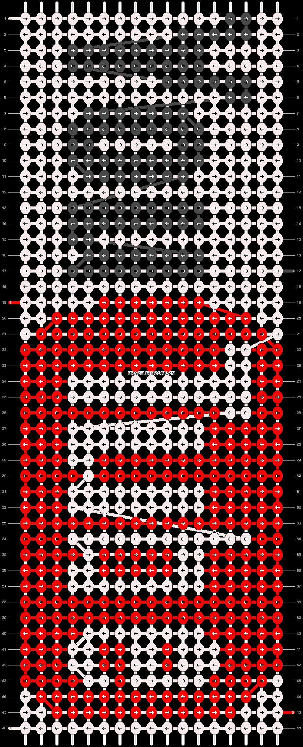 Alpha pattern #7808 pattern
