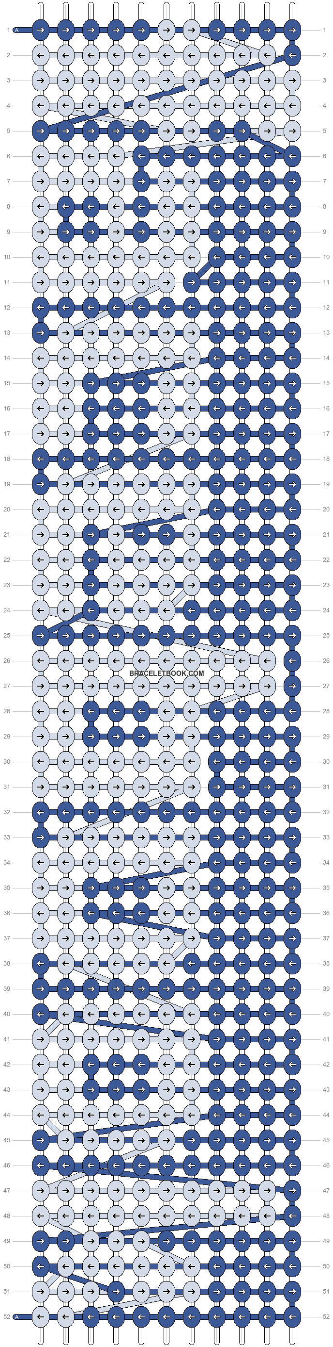 Alpha pattern #7810 pattern