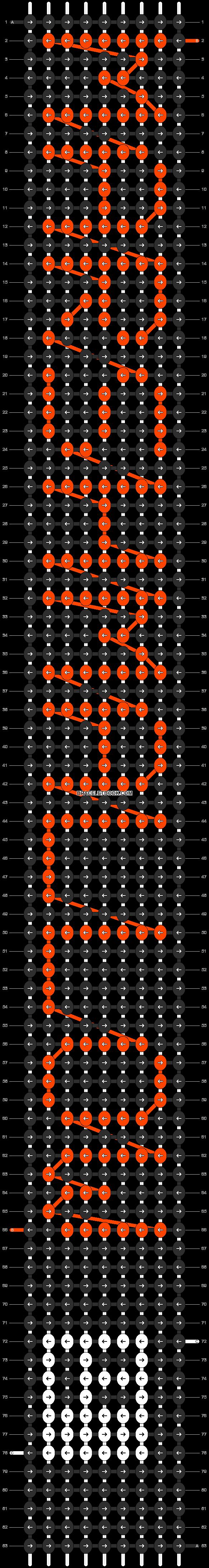 Alpha pattern #7826 pattern