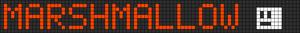 Alpha pattern #7826